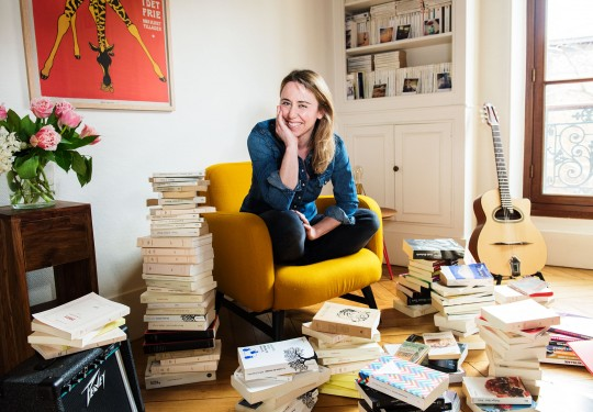 Charlotte Pons, écrivaine et journaliste. © Gaëlle Magder.